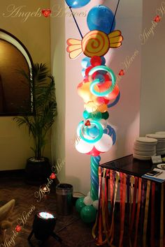 Candy Land Them Party Decoration
