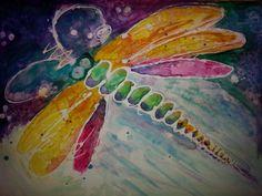 Yupo Dragonfly