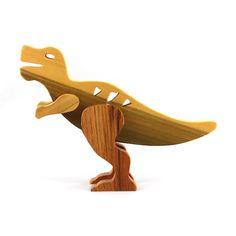 Pet Toys, Baby Toys, Children's Toys, Dinosaur Nursery, Dinosaur Dinosaur, Wooden Toy Trucks, Handmade Wooden Toys, Baby Dinosaurs, Kids Birthday Gifts