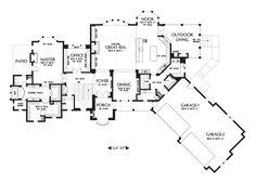 House Plan 2476 -The Thatcher. 5575 sq.ft 4 bed. 3 bath. 2 half baths