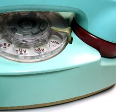rotary dial Princess phone; mine was in pink and I had a separate phone line to my bedroom, it was the first thing I bought with my first paycheck after getting my first job at the phone company.