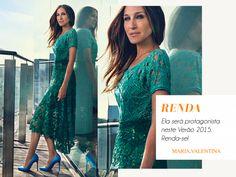 Por Dentro... em Rosa: Renda-se na Primavera 2014 / Verão 2015