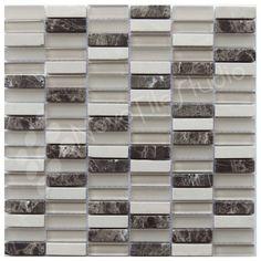 Impressive Mix #Stone #Glass #Mosaics #MosaicTiles #tiles #backsplash #kitchen #Bathroom #HomeDecor #HomeImprovement #HomeDesign #HomeRemodeling #remodeling #kitchendesign #bathroomdesign #bathdesign #InteriorDesign #NovoTileStudio by novotilestudio