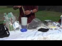 ▶ How to make a Orgone Pyramid Part 1 Orgonite Chi Prana - YouTube