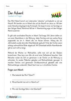arbeitsblatt lesetext das weihnachtsfest deutsch. Black Bedroom Furniture Sets. Home Design Ideas