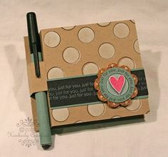 @Jeannine Brake-Norder@Jana Rolston - Don't know if these would be sturdy but it would be cute for your desk! For the Love of Paper: Post It Note Holder with a Twist Tutorial