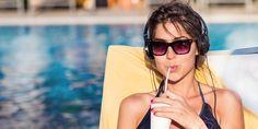 Summer Fresh, Listening To Music, Free Photos, Drinking, Sunglasses, 3, Women, Food, Fashion