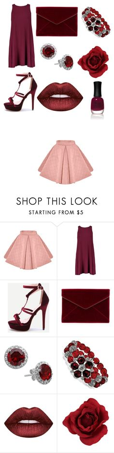 """""""Untitled #92"""" by sydneyoo on Polyvore featuring Rebecca Minkoff, 1928, Lime Crime and Charlotte Russe"""