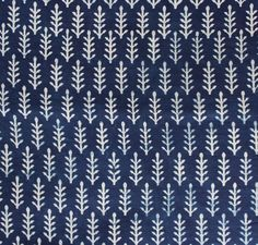 10 Yard Indigo fabric, Hand Printed Fabric, Cotton Fabric, Block Print Fabric, Indian Cotton Fabric, Soft Fabric, Voile/ Mul Fabric HPS#303 by handprintedshop on Etsy