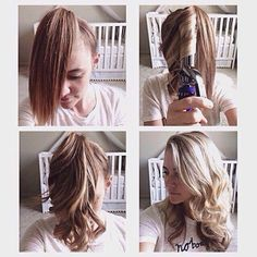 How to curl your hair easily