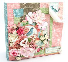Flying Unicorn: Graphic 45 - Botanical Tea Mini Album