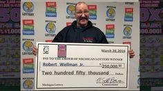 Newaygo County Man Claims $250,000 Winning Lottery Ticket - Northern Michigan's News Leader