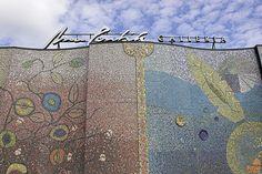 Posion Voima -mosaic art piece of Anu Pentik Galleria Importance Of Art, Interior Design Companies, Ceramic Design, Mosaic Art, Old And New, Finland, Norway, Tourism, Art Pieces