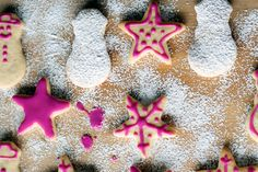 Christmas sugar cookies are a wonderful holiday treat. I love love love this recipe. Christmas is the one time of year I feel like a kid again, cutting out cookies...