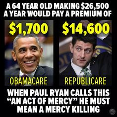 """""""Obamacare"""" wasn't perfect. But Trump's and the Republicans' rush to replace it will be devastating to millions of Americans . John Johnson, Paul Ryan, Live Wire, Thats The Way, Right Wing, Republican Party, Just In Case, Acting, Knowledge"""