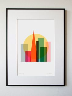 "SF ""Rise & Shine"" Poster Print 