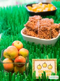 Minecraft party food ideas with printables! Minecraft Party Food, Easy Minecraft Cake, Amazing Minecraft, Minecraft Birthday Party, Minecraft Crafts, Minecraft Skins, 7th Birthday Party For Boys, Healthy Party Snacks, Food Themes
