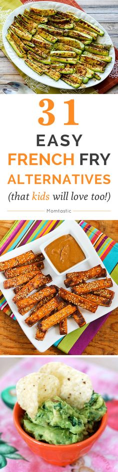 French fry alternatives that your family will love - get the recipes!