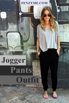 nice 45 Stylish Jogger Pants Outfit that'll Inspire You...