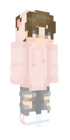 Brown Hair Wolf Boy With Pink Sweatshirt Re Create Minecraft Skins Minecraftskin Minecraftski In 2020 Minecraft Skins Aesthetic Minecraft Skins Minecraft Skins Boy