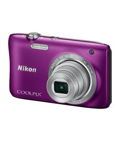 Lightweight & compact, Nikon Coolpix S2900 20.1MP Digital Camera renders high quality images. It is an ideal pick for amateur photographers as it helps them to explore endless shooting possibilities. This camera incorporates target finding auto-focus feature, special & quick editing effects, 5X optical zoom and 20.1 Megapixel CCD image sensor. It has a clear 2.7 inch TFT LCD screen that allows you to navigate through the camera menu easily. Having electronic vibration reduction technology…