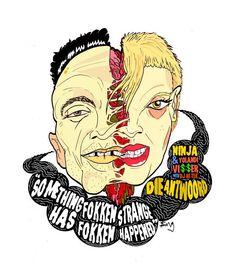 Die Antwoord Die Antwoord Daughter, Yolandi Visser, Cool Pictures, Ninja, Art Drawings, Asdf, Rats, Theater, Fanart
