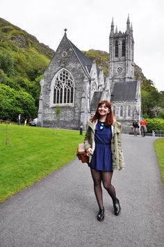 The New New Girl • A fashion and lifestyle blog : Travel Diary : Ireland - Day 13 (Clifden, Kylemore Abbey)