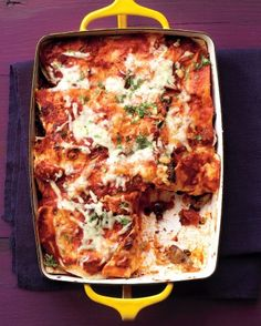 """See the """"Mushroom and Black Bean Tortilla Casserole"""" in our Casserole Recipes gallery"""