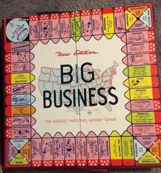 Old Board Games, Vintage Board Games, Old Games, Game Boards, Board Game Design, Money Games, Space Race, First Game, The Incredibles