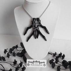 Black Rivulet of Doom Necklace