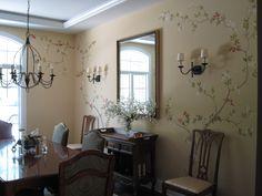 hand painted walls