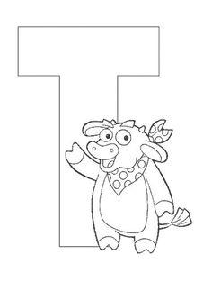 Exercices à imprimer pour les enfants. Alphabet 38