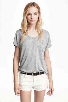 Top ampio in jersey   H&M