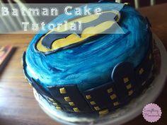 Batman Cake Tutorial ~ ...everything homemade...