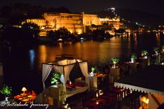 Udaipur fondly called as the Venice of East has many attractions for tourists. Here is an itinerary to cover all attraction of Udaipur in 24 hours. Rooftop Restaurant, Restaurant Offers, Udaipur India, Nice View, Venice, Waterfall, Places To Visit, Temple, Journey