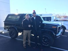 Alex Denault and the rest of us here at Court Street Ford would like to congratulate Shawn Marion of Chicago on the purchase of his 1986 Ford Bronco.  Thank you for your business Shawn!