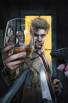 CONSTANTINE #23 Written by RAY FAWKES Art by JEREMY HAUN Cover by JUAN FERREYRA On sale MARCH 11 • 32 pg, FC, $2.99 US • RATED T+ The events of his journey to Earth-2 destroyed John Constantine. Where will his fate take him now?