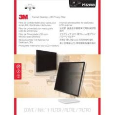 3M PF324W9 Framed Privacy Filter for Widescreen Desktop LCD Monitor