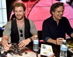 Comic-Con 2014 - Avengers: Age of Ultron / Chris Hemsworth and Mark Ruffalo
