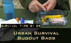 S1 E5 -- Urban Survival Bug Out Bags -- Learn the difference between a Get Home Bag and a Bugout Bag, and tailor them to an urban environment.