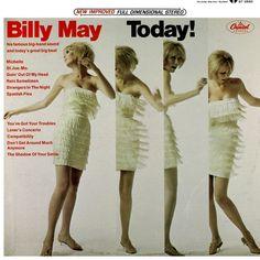 Man I totally dig this Billy May album. Big slurpy sax Strangers in the Night amongst other treats. Lp Cover, Vinyl Cover, Lp Vinyl, Vinyl Records, Cover Art, Billy Mays, Worst Album Covers, Bad Album, Vinyl Junkies