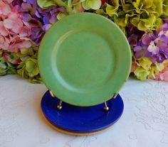 3 Vintage Paul Revere Pottery Saturday Evening Girls SEG Plates #2