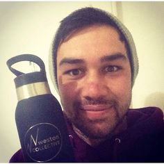 Check out this legend with his new weston collective drink bottle! Thanks for the support @tyyyy_ross . First batch nearly sold out. Email info@westoncollective.com.au to purchase! #westoncollective