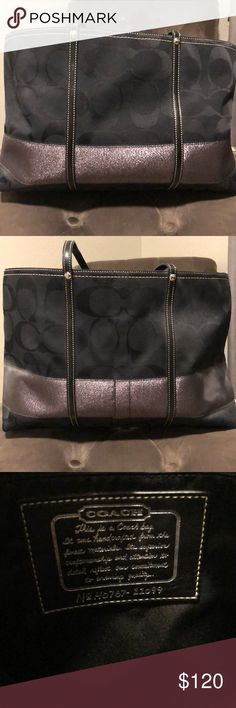 Authentic Coach Handbag Like new condition authentic coach handbag. Great size!! Coach Bags Shoulder Bags
