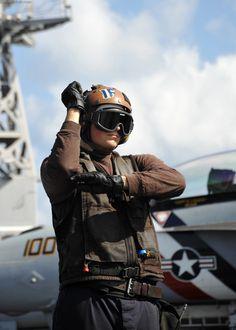 US Navy  Aviation Electrician's Mate Airman Joel Blodgett