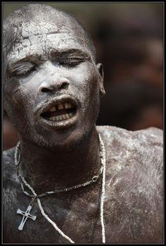 Africa   'Voodoo Trance'.  Coastal Benin   ©Henk Bogaard