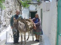 GREEK OLD PEOPLE IN SMALL VILLAGES