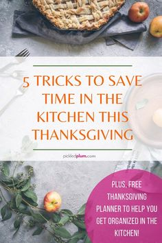 5 Tricks To Save Time In The Kitchen This Thanksgiving (Plus FREE Thanksgiving Planner!) - Pickled Plum Food And Drinks Easy Asian Recipes, Tofu Recipes, Healthy Dinner Recipes, Thanksgiving Dinner Recipes, Thanksgiving Leftovers, Dinner Rolls, Vegetable Dishes, Casserole Dishes, Easy Meals
