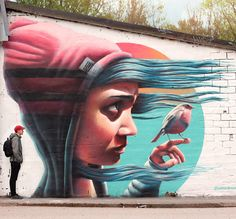 Stockholm Mural, 2015 by Linus Lundin aka YASH, via From up North
