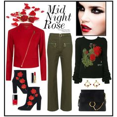 A fashion look from February 2017 by romaboots-1 featuring Off-White, Chloé, Chanel and Dolce&Gabbana